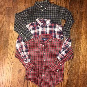 Ralph Lauren Loy 3 boys shirts size 5